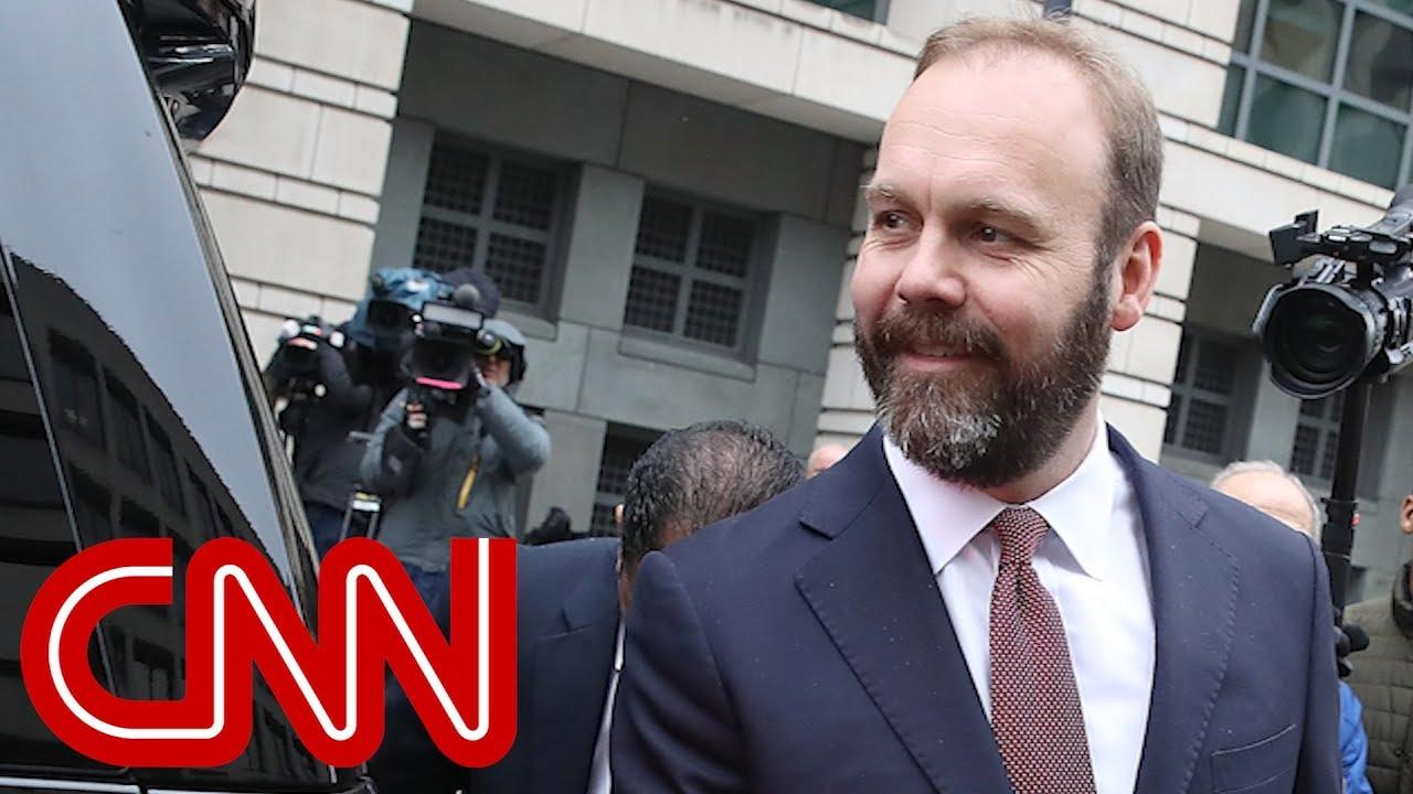 Ex-Trump campaign aide Rick Gates pleads guilty - Dauer: 10 Minuten