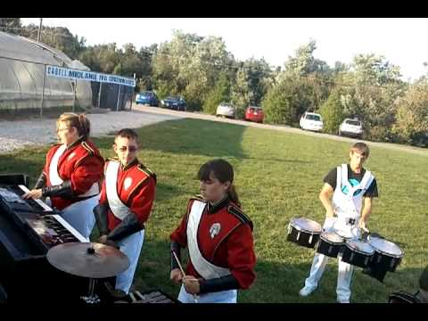Hurricane High School Percussion 2012: Full Run