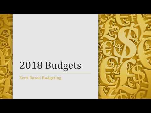 GCC 2018 Budgets Presentation