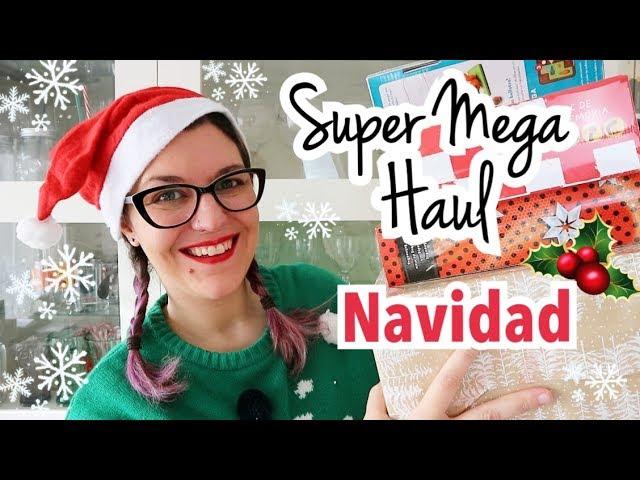 SUPER MEGA HAUL NAVIDAD 2018 | Ideas Regalos Navidad + Tour