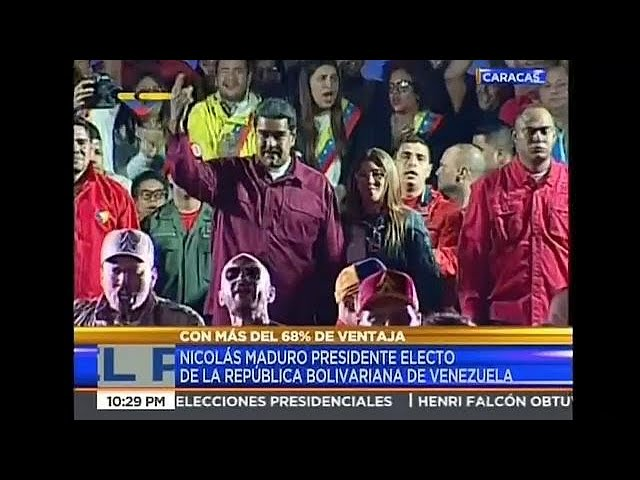 Maduro claims victory in low Venezuelan poll