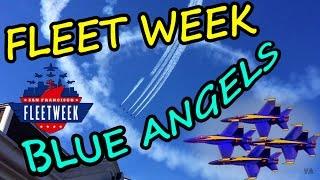 Жизнь в США. Fleet Week в Сан-Франциско. Выставка Автомобилей. Авиашоу Blue Angels.(Привет, меня зовут Валера, а мою вторую половинку Аня. Мы ведём семейный влог, и снимаем видео о наших путеше..., 2016-10-13T16:41:18.000Z)