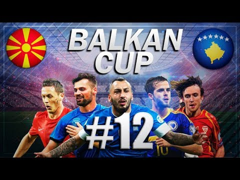 FIFA 18 - BALKAN CUP #12 - MACEDONIA vs KOSOVO - GROUP B