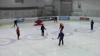 2012 Winter Youth Olympic Games - Ice Hockey Skills Challenge #2: Shooting Accuracy
