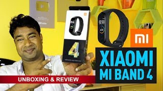 Xiaomi Mi Band 4 - Unboxing & Review | Indian Version Best Fitness Tracker