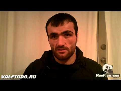 Интервью Хасбулаева после 1ого тура гран-при для Valetudo.ru