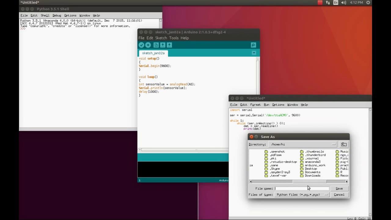 Python Programming For Arduino Pdf