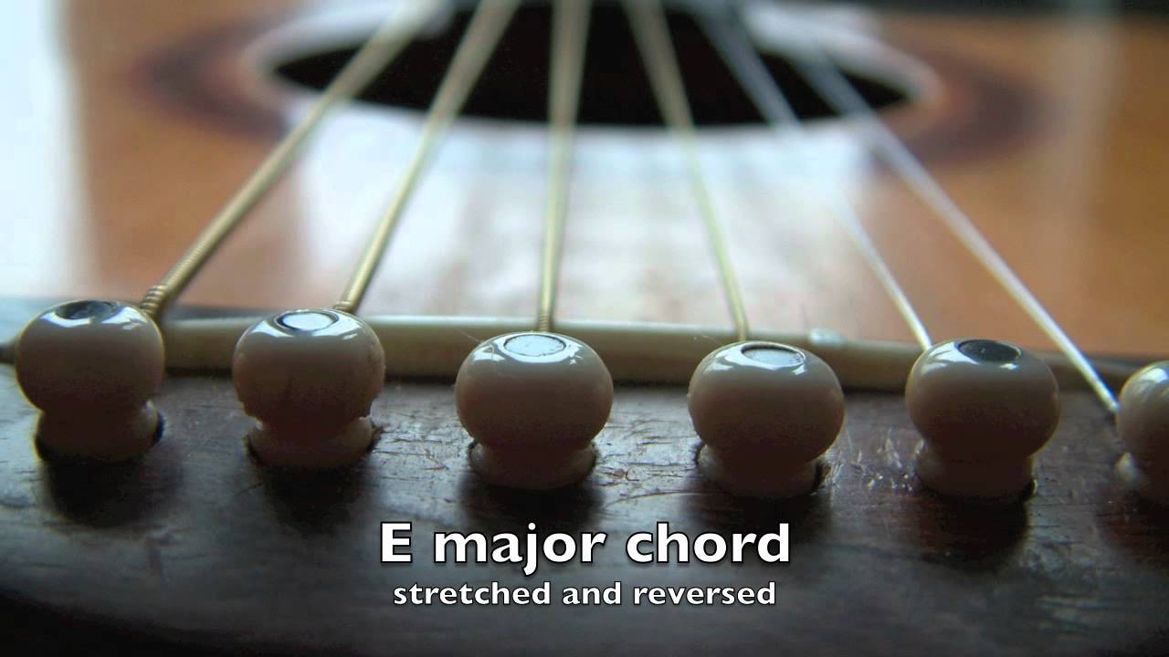 Guitar E Major Chord Stretched And Reversed Youtube