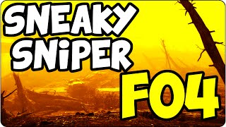 fallout 4 ps4 survival automatron the sneaky sniper fo4 walkthrough let s play gameplay