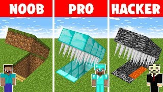 Minecraft NOOB vs PRO vs HACKER : HIDDEN TRAP CHALLENGE in minecraft - Animation