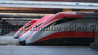 Treni Alta Velocità Roma Termini Frecciarossa,Frecciargento,NTV Italo,Frecciabianca,Euronight,IC!