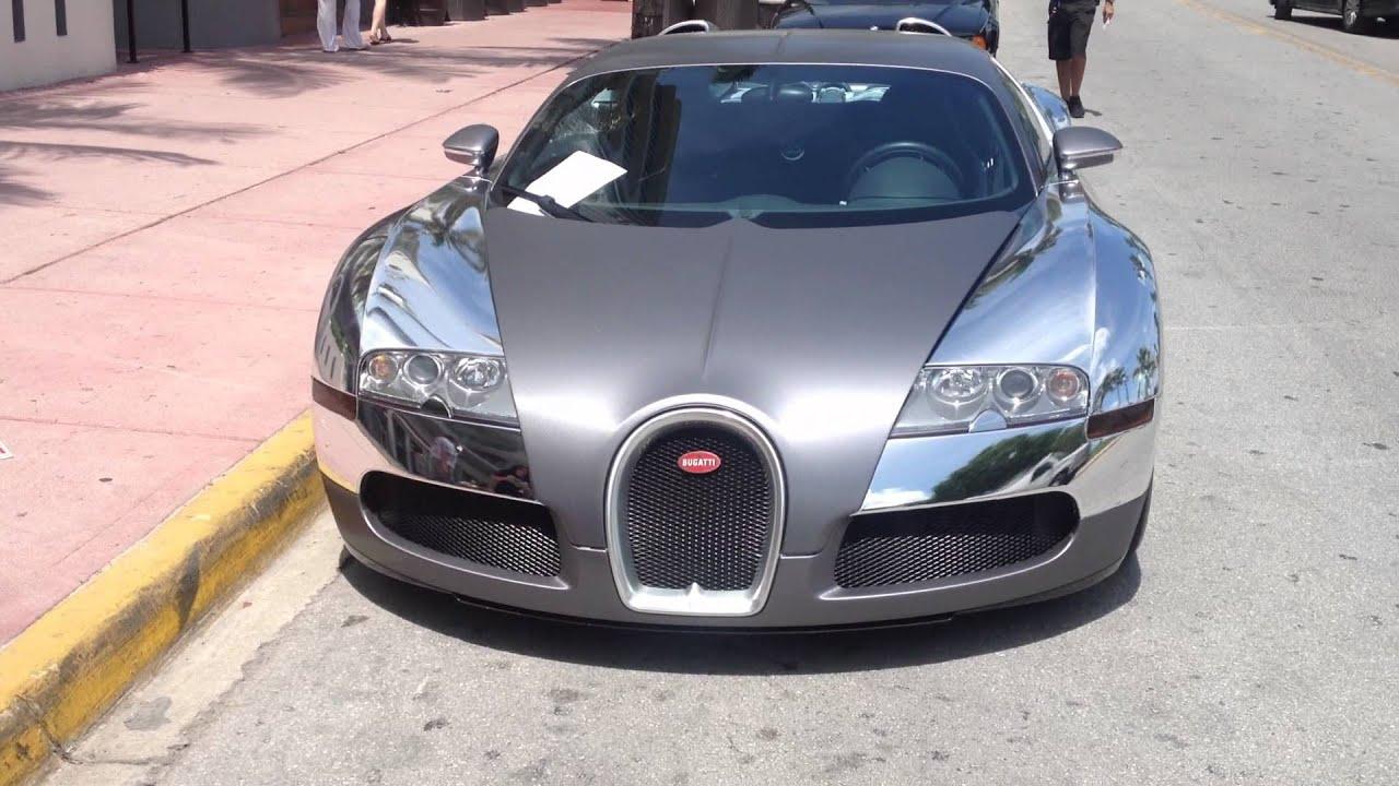 flo rida's chrome bugatti veyron *nothing like ocean drive south