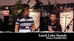 Latch Lake Stands Winter - NAMM 2015