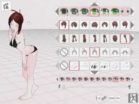 3d custom girl tutoriel 1 youtube 3d creator online free