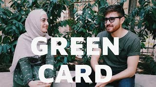Green Card udan dostumla söhbət ll Amerikada yaşamaq