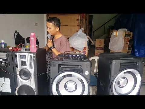 Speaker DAT DP 122 cek sound karaoke