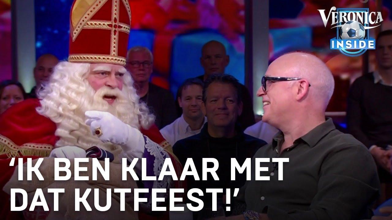 Sinterklaas bij Veronica Inside: 'Ik ben klaar met dat kutfeest!' | VERONICA INSIDE