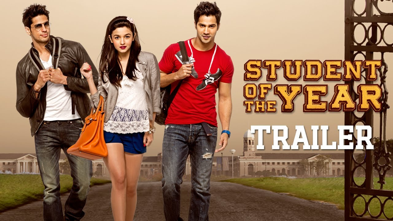 Student Of The Year Official Trailer Sidharth Malhotra Alia
