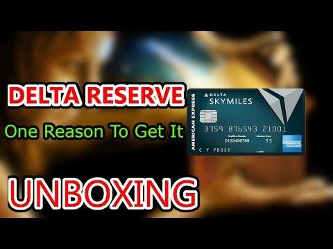 Delta Reserve Card Unboxing