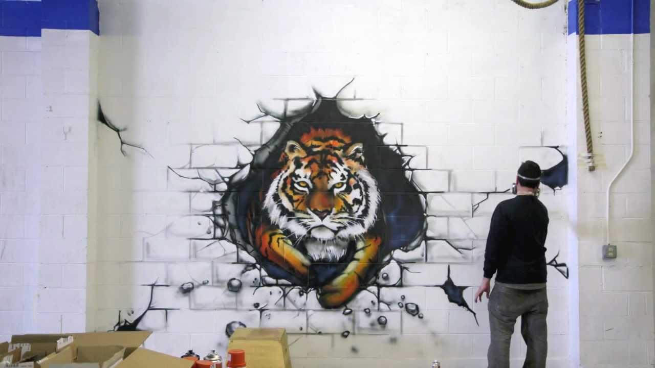 Crossfit Mural Reveal