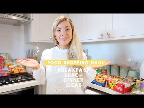 FOOD SHOPPING HAUL | DINNER, LUNCH & BREAKFAST IDEAS | KATE MURNANE ad