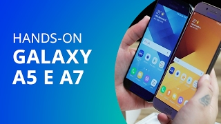 Samsung Galaxy A5 e Samsung Galaxy A7 [Unboxing e Hands-on]