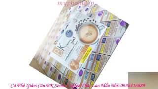 Cà Phê Giảm Cân BK Seven Coffee  Thái Lan Giảm 5 -10 kg- 0938416889