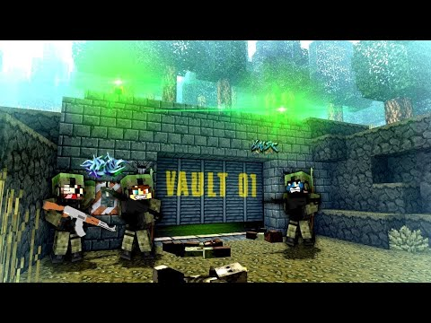 DISCOVERING THE VAULT! - Minecraft Zombie Apocalypse #9 - Decimation Mod