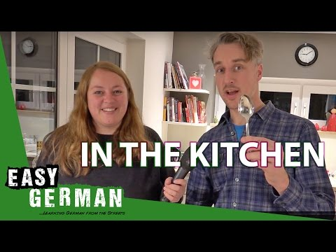 In the kitchen | Super Easy German (11)