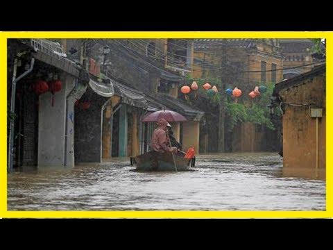 """Vietnam – zahl der toten durch tropensturm """"damrey"""" steigt auf 49 – haz – hannoversche allgemeine"""