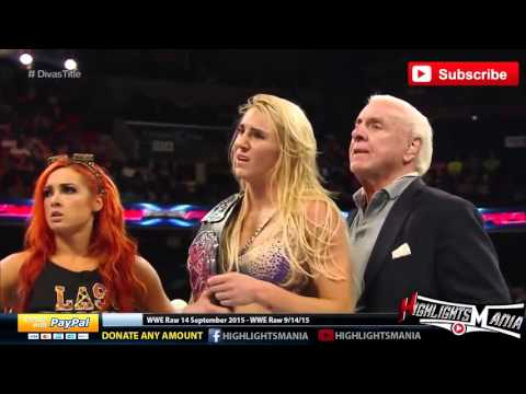 WWE Raw 14 September 2015 Highlights - wwe monday night raw 9/14/15 highlights
