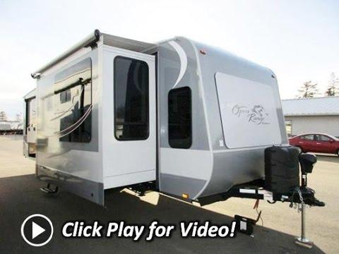 2016 open range roamer 340flr front living - Front living room travel trailers ...