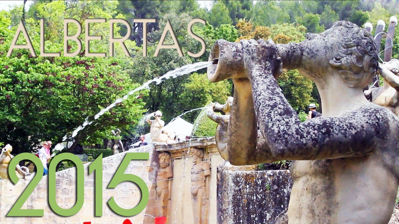 Les Journées des Plantes aux Jardins d Albertas 2015