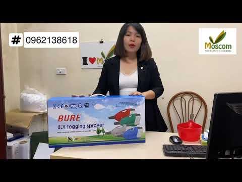 Hướng dẫn sử dụng Máy phun côn trùng, khử khuẩn ULV SM BURE (Hàn Quốc) - 0962138618