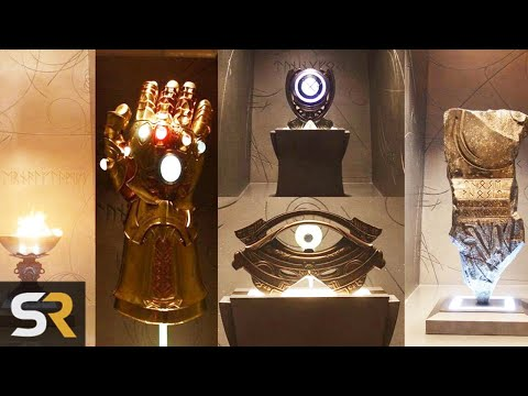 Odin's Vault Holds Clues To MCU Phase 4