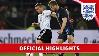 Germany 1-0 England (2017 Friendly) | Official Highlights