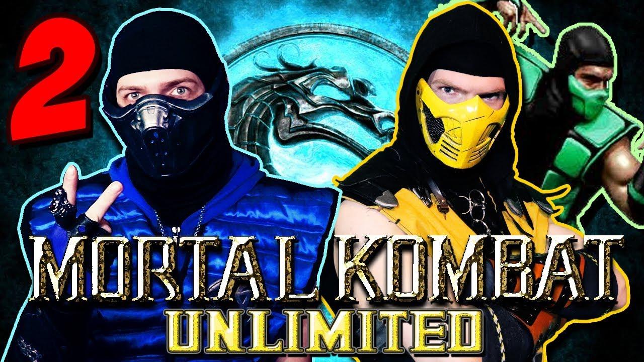 Scorpion Sub Zero Play Mortal Kombat Unlimited 2 Reptile Fight