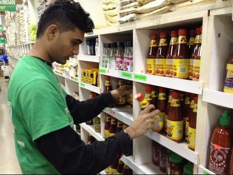 Stocker job opportunity in Carrefour hyper market in UAE - YouTube