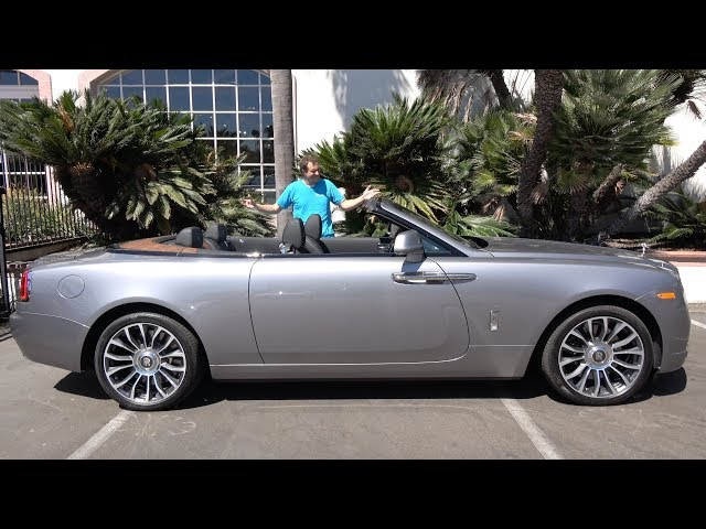 The Rolls-Royce Dawn Is a $400,000 Ultra-Luxury Convertible