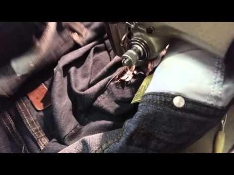 Neues aus der Textilwerkstatt : Jeans enger machen
