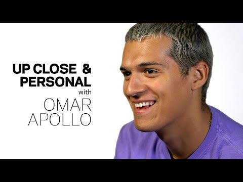 Omar Apollo On 'Friends' & Being Young, Indie, Latinx & On The Rise| Up Close & Personal