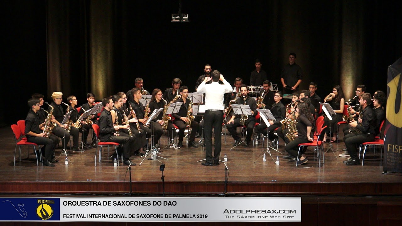 FISPalmela 2019 - Orchestra de Saxofones do DAO - Escapades rom Catch me if you can by John WIlliams