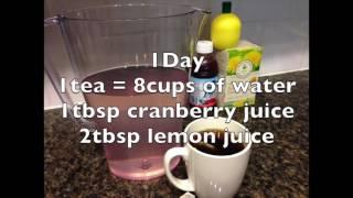 Jillian Michaels 7 Day Detox Water Preparation