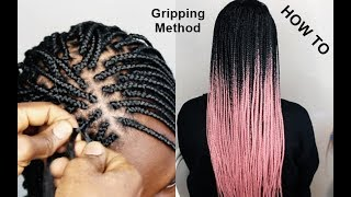 Tips and Tricks: Gripping The Roots |BOX BRAID TUTORIAL| TRY THIS METHOD TO LEARN HOW TO BRAID