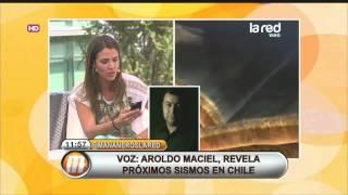 Aroldo Maciel conversa con Salfate sobre el sismo de este martes