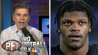 How does Lamar Jackson stack up against Michael Vick? | Pro Football Talk | NBC Sports