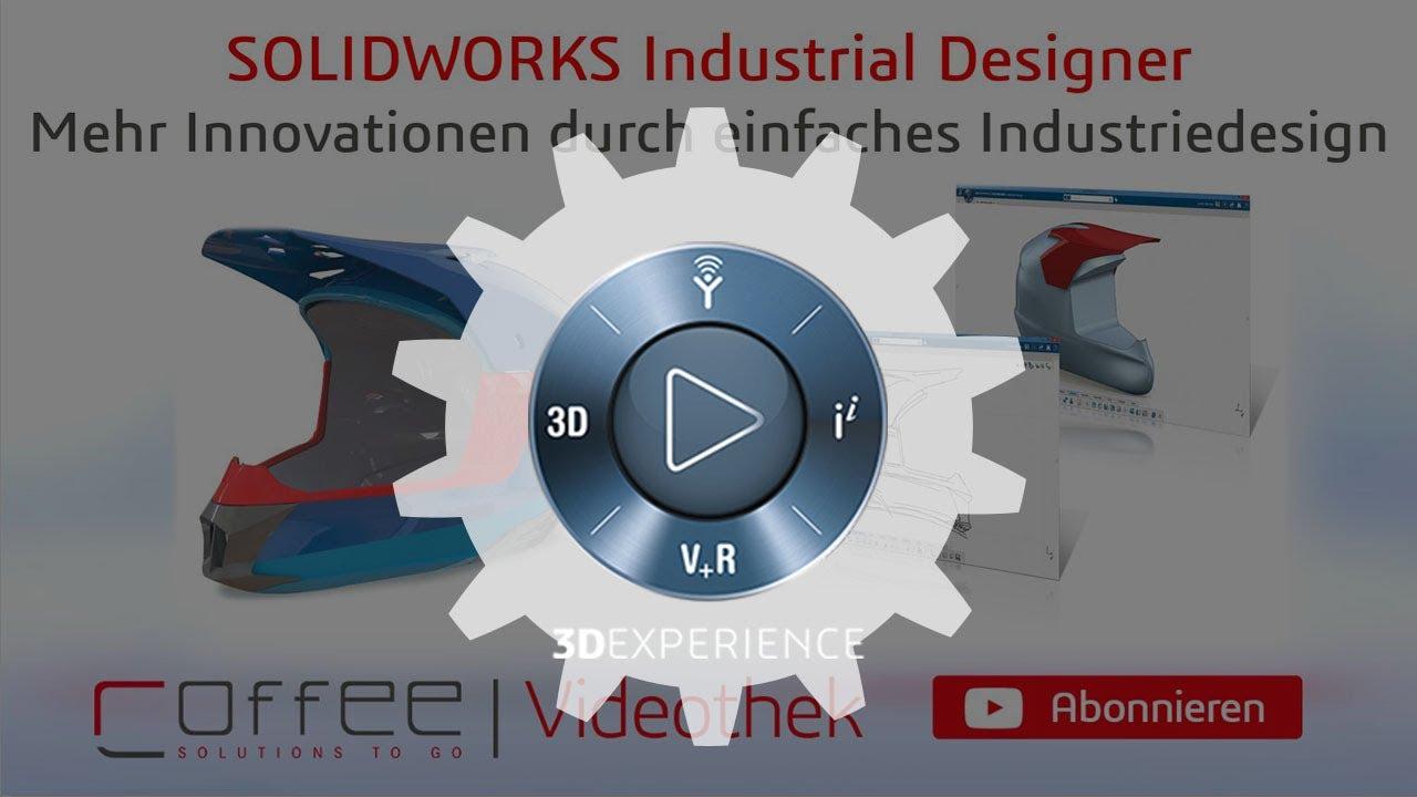 SOLIDWORKS Industrial Designer - 3D Industriedesign - YouTube