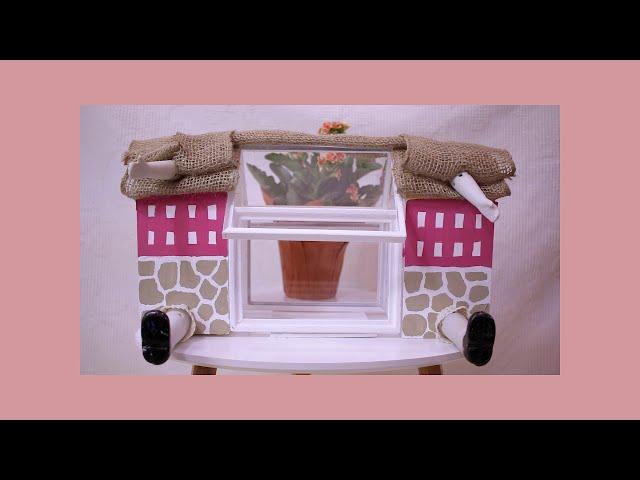 DIY Alice in Wonderland Greenhouse