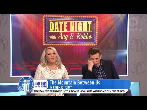Ang & Robbo Review 'The Mountain Between Us' & 'Happy Death Day' | Studio 10