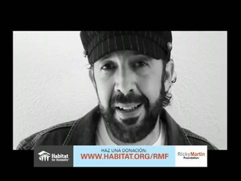 RMFHabitat Video: a Ricky Martin Foundation Celebrity Appeal for Haiti (Spanish)